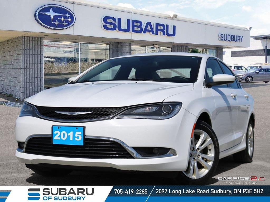 Certified Pre-Owned 2015 Chrysler 200 Limited - PERFECT STUDENT VEHICLE - UNDER $15,000 - FINANCING AVAILABLE