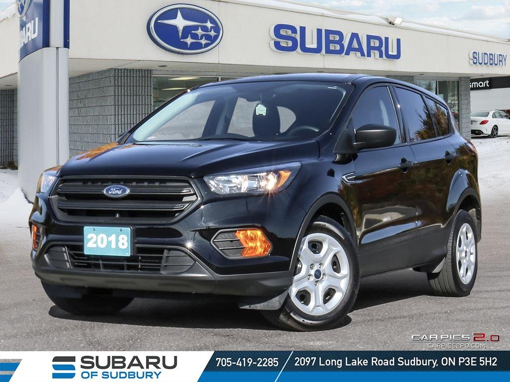 Pre-Owned 2018 Ford Escape S - BRAND NEW FRONT AND REAR BRAKES - PRICED 3 OF 18 IN CANADA