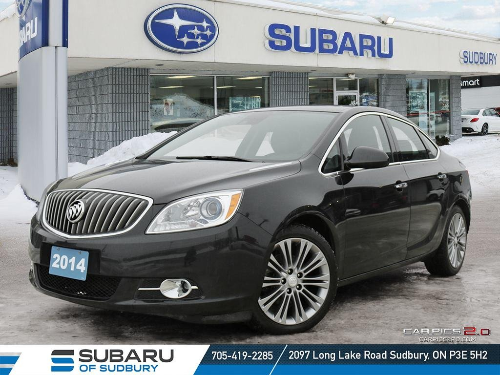 Pre-Owned 2014 Buick Verano - AMAZING FEATURES! - LOW KMS! - NEW BRAKES ALL AROUND!