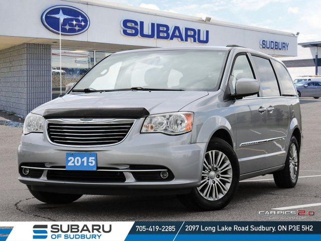 Pre-Owned 2015 Chrysler Town & Country Touring-L - UNDER $20,000 - LESS THAN 100,000KMS - FULLY CERTIFIED