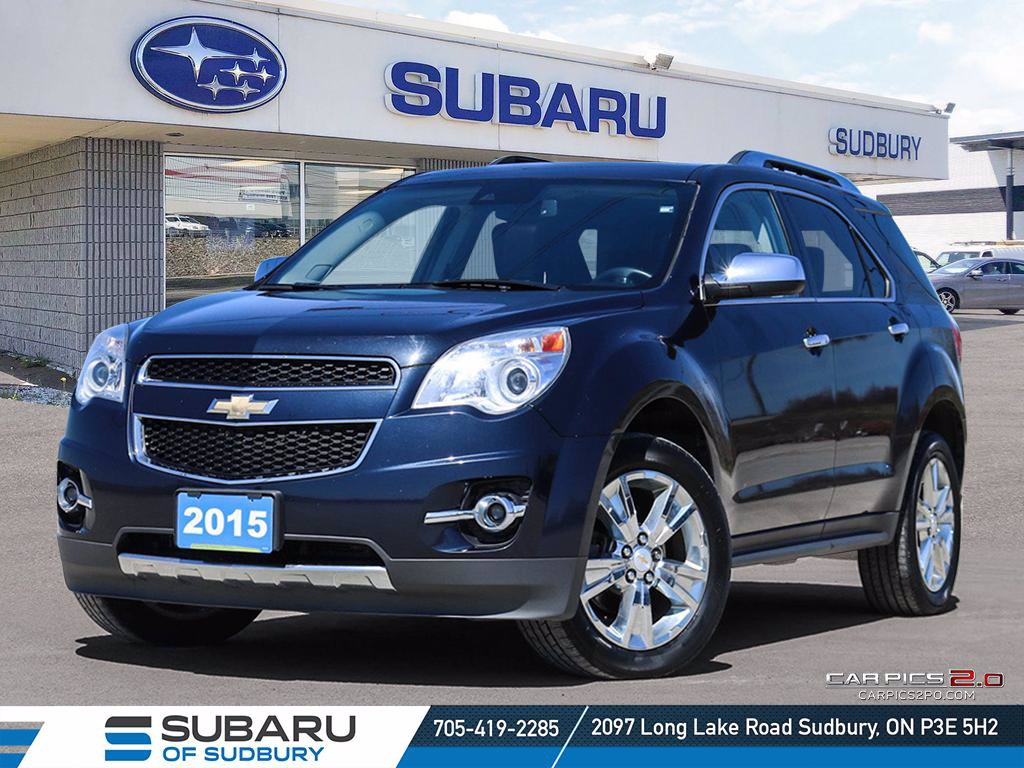 Pre-Owned 2015 Chevrolet Equinox LTZ - PIONEER SOUND SYSTEM - BACK UP CAMERA !