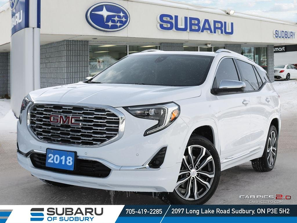 Pre-Owned 2018 GMC Terrain Denali - NAVIGATION - 360 CAMERA - TOP OF THE LINE TERRAIN - ONE OWNER