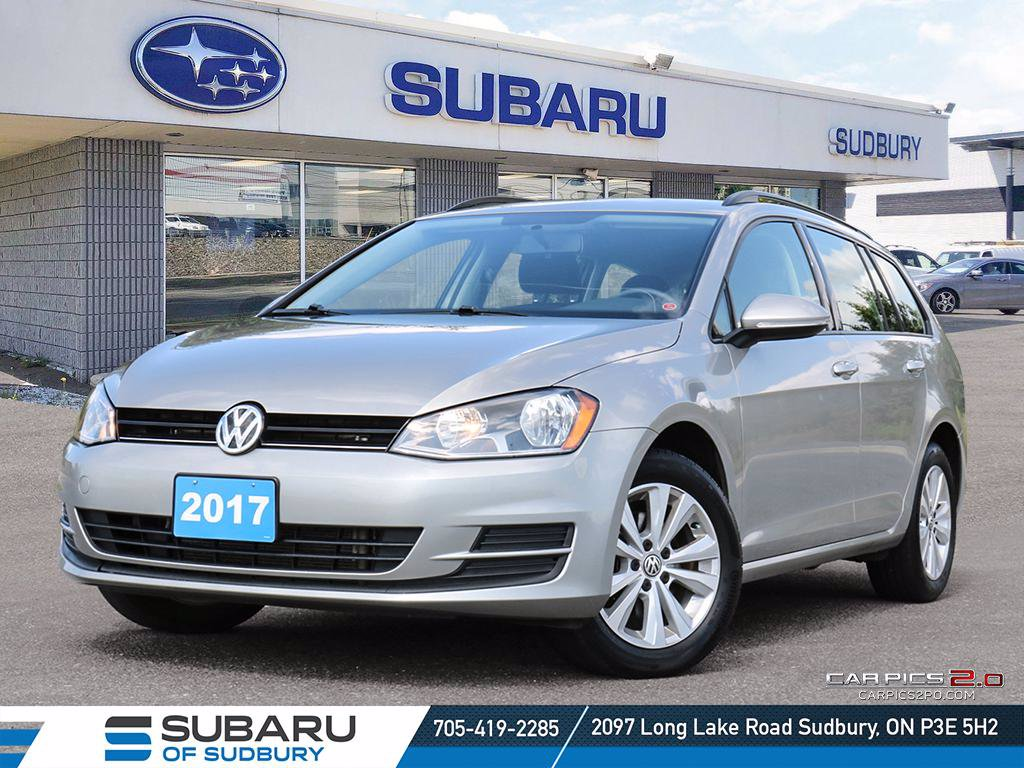 Pre-Owned 2017 Volkswagen Golf Sport Wagen - CONTACTLESS DELIVERY - FINANCING AVAILABLE - PRICED 3 OF 16