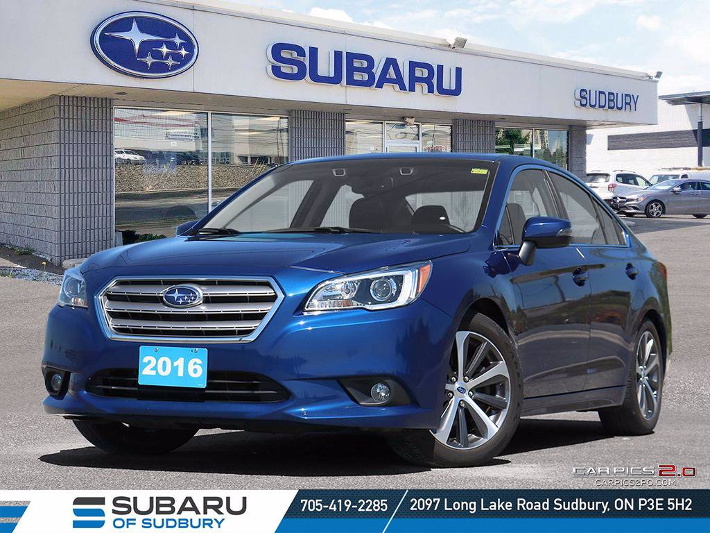 Pre-Owned 2016 Subaru Legacy 3.6R w/Limited & Tech Pkg