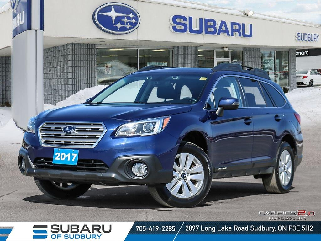 Pre-Owned 2017 Subaru Outback 2.5i Touring - TECH PACKAGE - UNDER $23,000 - ONE OWNER