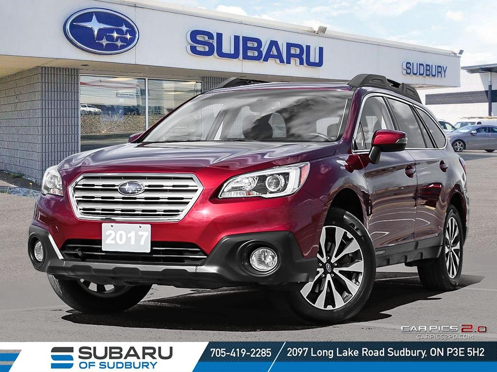 Pre-Owned 2017 SUBARU OUTBACK 2.5i LIMITED - FULLY LOADED - UNDER $25,000 - STILL UNDER FACTORY WARRANTY
