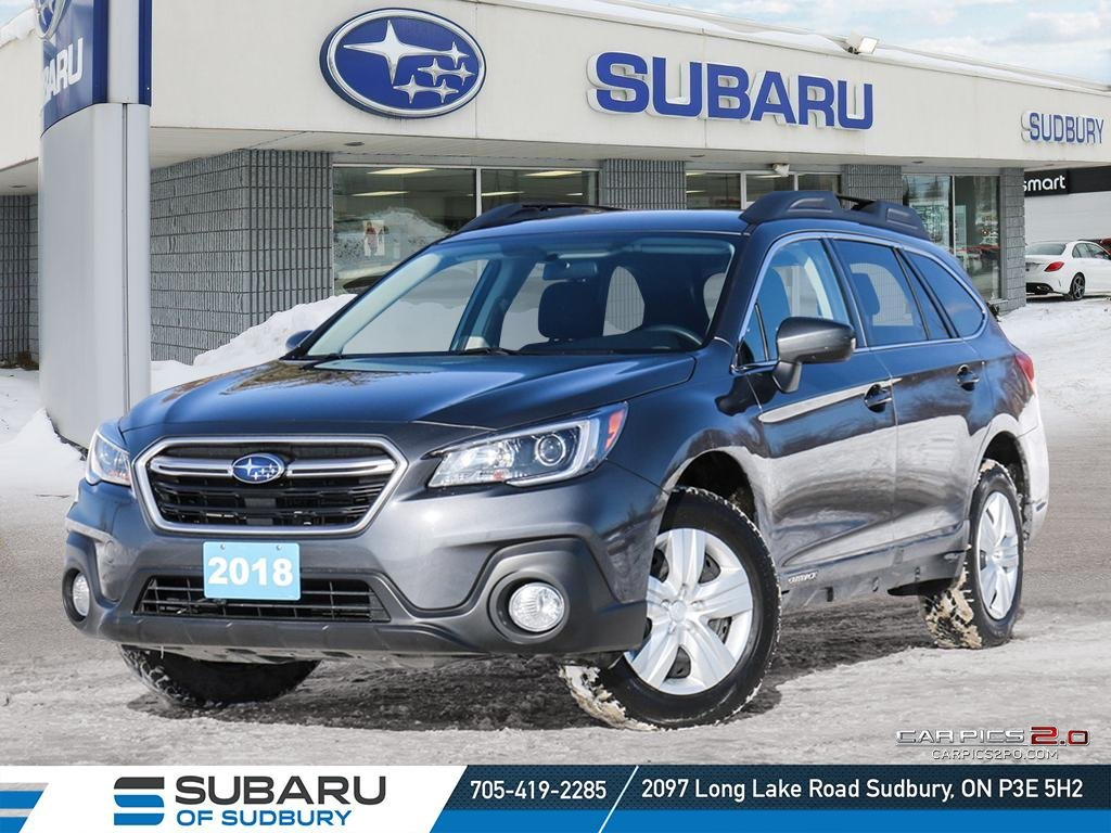 Pre-Owned 2018 Subaru Outback 2.5i - BEST AWD IN THE MARKET - BACK UP CAMERA !