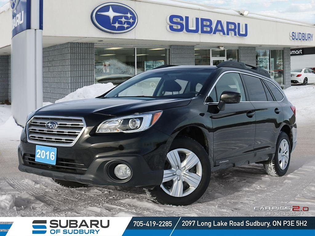Pre-Owned 2016 Subaru Outback 2.5i - IIHS TOP SAFETY PICK - HIGHEST RESALE VALUE IN ITS SEGMENT