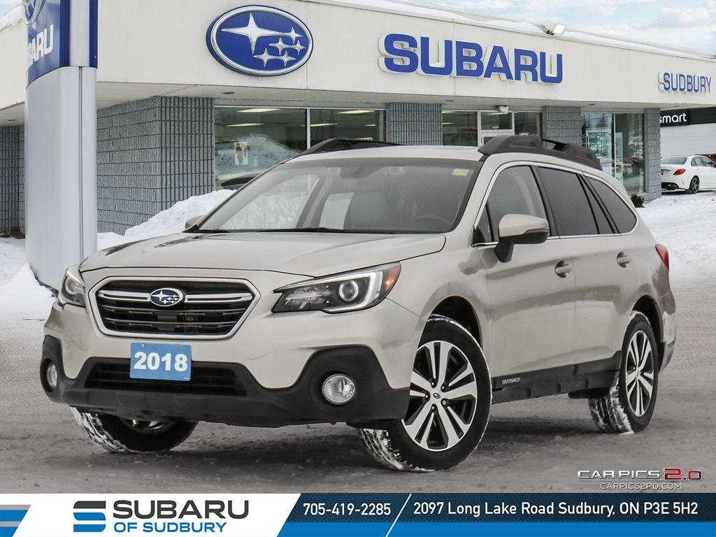Pre-Owned 2018 Subaru Outback Limited - BRAND NEW BRAKES - LOADED FAMILY SUV