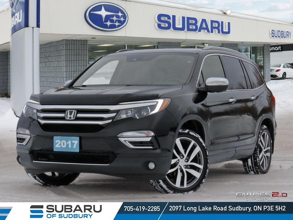 Pre-Owned 2017 Honda Pilot Touring L Plus - FULLY LOADED - REAR ENTERTAINMENT - ABSOLUTLY MINT