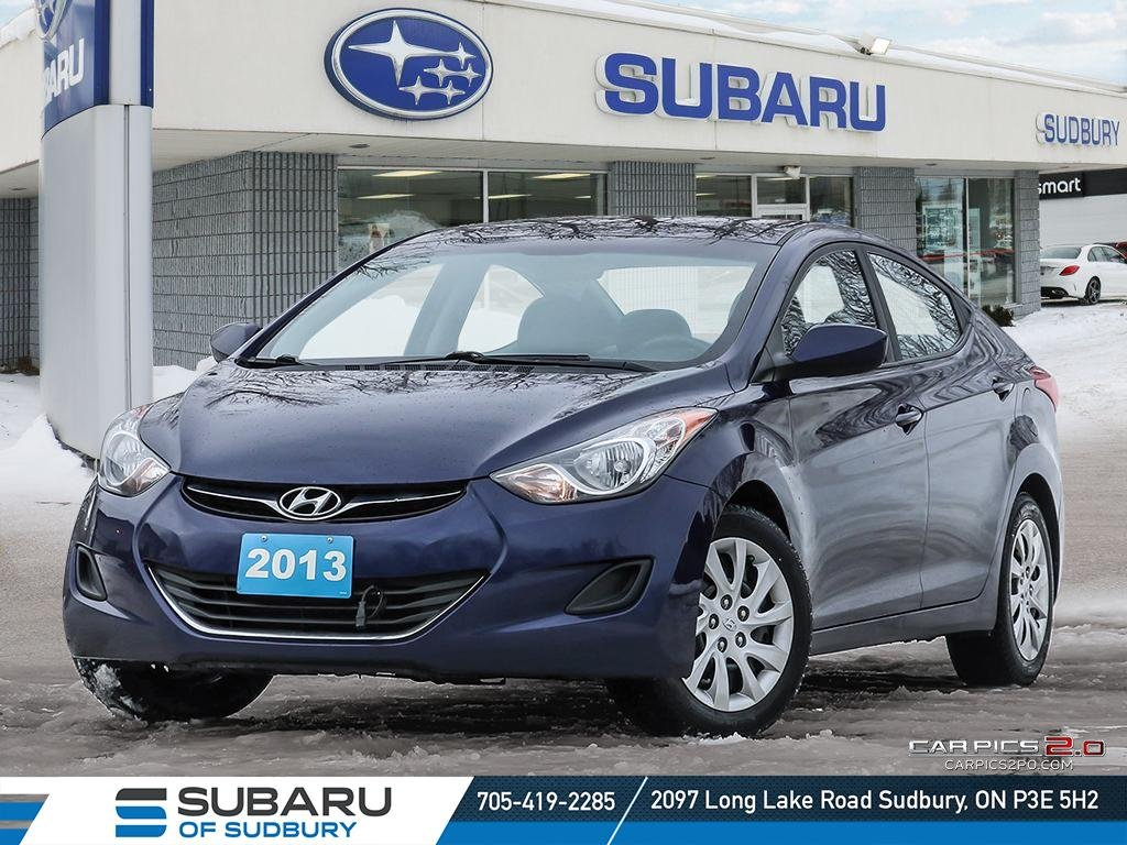 Pre-Owned 2013 Hyundai Elantra GL - SUPER LOW KMS - FINANCING AVAILABLE - FULLY CERTIFIED