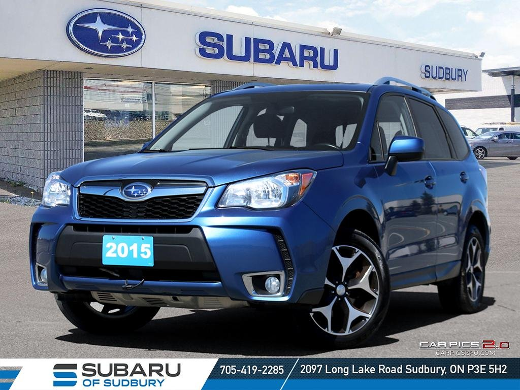 Pre-Owned 2015 SUBARU FORESTER 2.0XT TOURING - 2.0L TURBO - X MODE - BEST ALL WHEEL DRIVE IN ITS CATEGORY