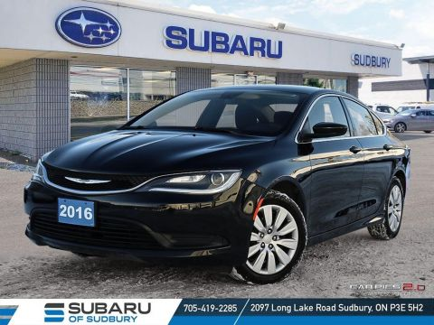 Pre-Owned 2016 Chrysler 200C LX - PERFECT STUDENT VEHICLE - CLEAN W/ ONE OWNER!