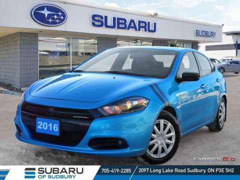 Pre-Owned 2016 Dodge DART SXT/Rallye - AFFORDABLE, SPORTY AND FUN CAR TO OWN