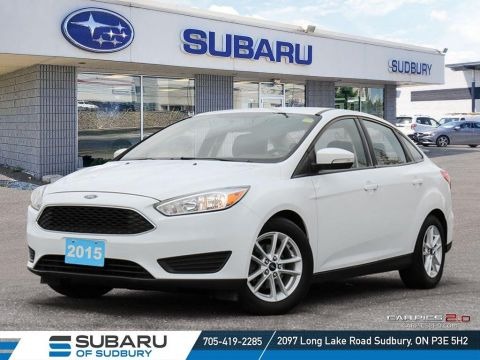 Pre-Owned 2015 Ford focus SE - MANUAL TRANSMITION - UNDER 50,000 KMS - FINANCING AVAILABLE FWD 4dr Car