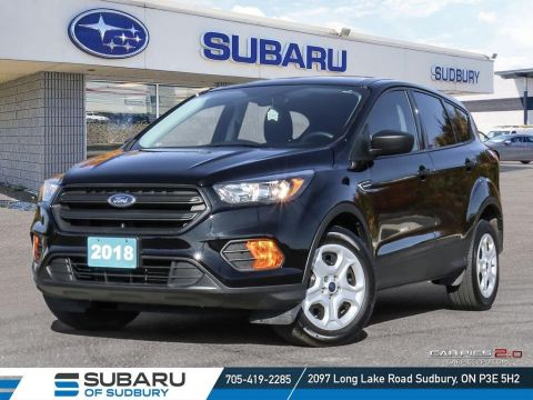Pre-Owned 2018 Ford Escape S - PERFECT FAMILY SUV UNDER 20,000!!! FWD Sport Utility