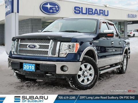 Pre-Owned 2010 Ford F-150 LARIAT - TOP CRASH TEST SCORES & MASSIVE TOWING CAPABILITY
