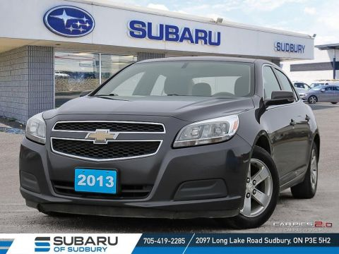 Pre-Owned 2013 Chevrolet MALIBU LS - CLEAN CAR PROOF - UNDER $10,000 -