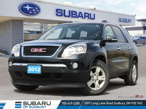 Pre-Owned 2012 GMC ACADIA SLE - SELF CERTIFY
