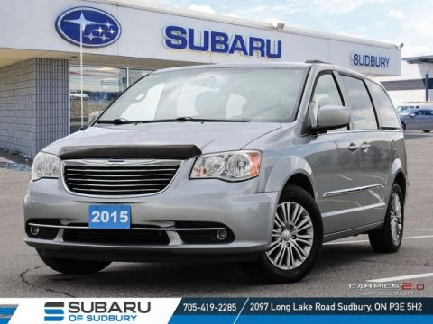 Pre-Owned 2015 Chrysler Town & Country Touring-L - !**FREE WINTER TIRES**! FWD Mini-van, Passenger
