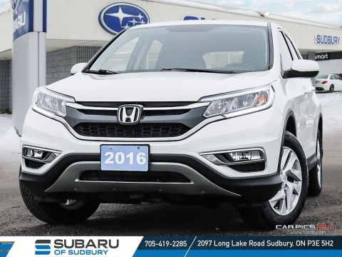Pre-Owned 2016 Honda CR-V EX-L - LOW KMS - NAV - LEATHER - SUPER CLEAN!!