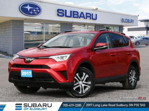 Pre-Owned 2017 Toyota RAV4 LE - UNDER $25,000 - LOW KMS - WARRANTY & FINANCING AVAILABLE FWD Sport Utility