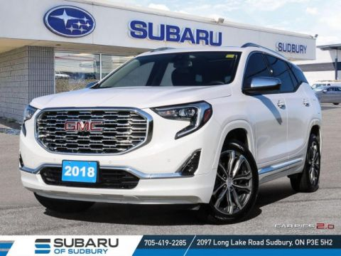Pre-Owned 2018 GMC Terrain Denali - !**FREE WINTER TIRES**!
