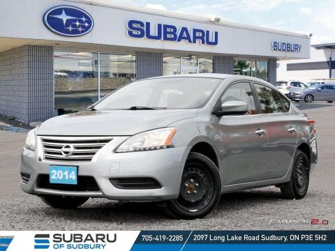 Pre-Owned 2014 Nissan Sentra 1.8 S - SUPER LOW KMS - MANUAL TRANSMITION - FINANCING AVAILABLE FWD 4dr Car