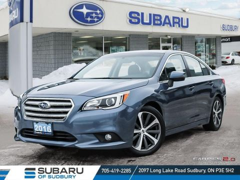 Pre-Owned 2016 SUBARU LEGACY 2.5i LIMITED - GREAT ALL-AROUND SEDAN HAS 4 AWARDS!