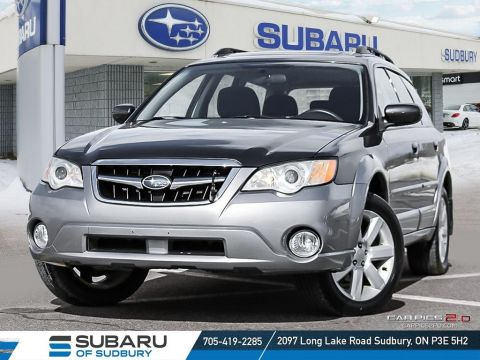 Certified Pre-Owned 2008 Subaru OUTBACK 2.5i - FULLY CERTIFIED!!! LOW KMS