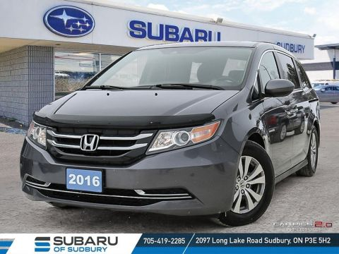 Pre-Owned 2016 Honda Odyssey EX-L - TOP CRASH TEST SCORES TO KEEP YOU & YOUR FAMILY SAFE