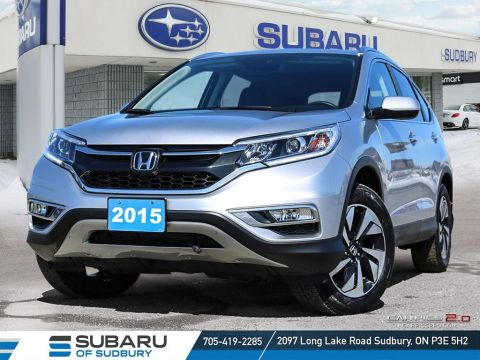 Certified Pre-Owned 2015 Honda CRV Touring - FULLY LOADED - EXTRA CLEAN - PERFECT FAMILY SIZED SUV!!!