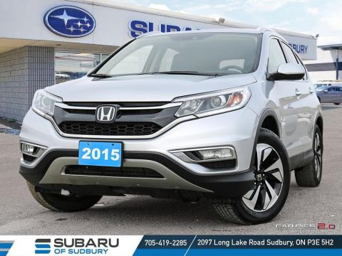 Pre-Owned 2015 Honda CRV Touring - FREE YETI COOLER!!! 4 BRAND NEW TIRES- FULLY LOADED