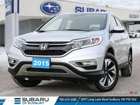 Pre-Owned 2015 Honda CRV Touring - TOP OF THE LINE SUV - FINANCING AVAILABLE!!!