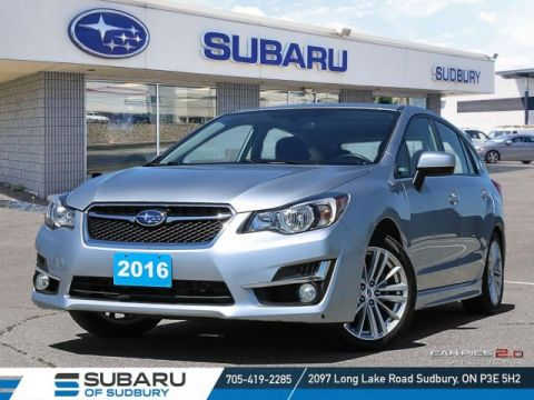 Pre-Owned 2016 Subaru Impreza 2.0i Sport - !**FREE WINTER TIRES**!