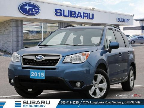 Pre-Owned 2015 SUBARU FORESTER 2.5i TOURING - FREE YETI COOLER!!! NEW PADS AND ROTORS