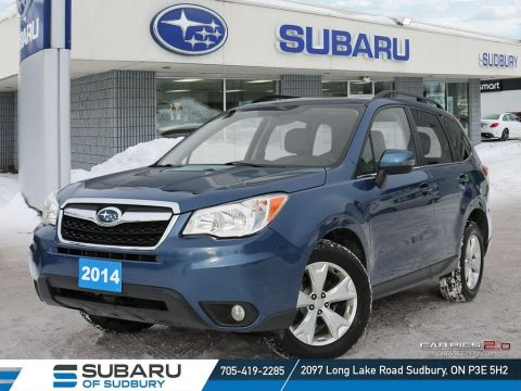 Pre-Owned 2014 SUBARU FORESTER 2.5i LIMITED - GET THIS SUBARU FOR $170 BI WEEKLY!