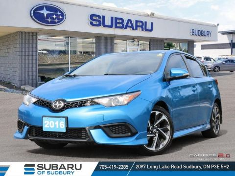 Pre-Owned 2016 Scion iM Base - HEATED SEATS - BACK UP CAMERA ! FWD Hatchback