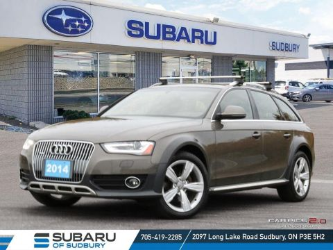 Pre-Owned 2014 Audi A4 allroad 2.0 Technikquattro - AWD - BROWN LEATHER INTERIOR - UNDER $25,000